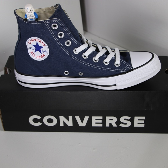 558845277efc Converse Classic Navy Blue All Star High Tops
